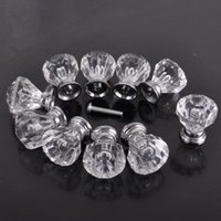 cabinet hardware - Clear Acrylic Door Pull Knob Drawer Cabinet Cupboard Handle mm Hardware