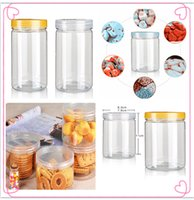 Wholesale Plastic Bottles Fresh Bottles Canister Fashion Family Top Quality and Transparent Fresh Bottles Hot Minimalistic Food and Nice Canister