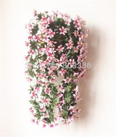 artificial jasmine flowers - estive Party Supplies Decorative Flowers Wreaths Silk Lily Flower Rattan cm quot Artificial Jasmine vine plastic Jasmin wisteria