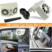 Exhaust System - Solar Sun Power Car Auto Air Vent Cool Fan Cooler Ventilation System Radiator Solar power exhaust fan Car Auto Cooler