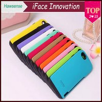 "Cheap New Arrival iFace Korea Credit Card Holder TPU Capa for iPhone 5 6 4.7"" Plus 5.5"" Samsung Galaxy Note 3 4 S4 S5 Candy Color Anti-Shock Cover"