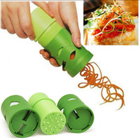 Wholesale Vegetable Fruit Veggie Twister Cutter Slicer Processing Kitchen Tool Garnish New