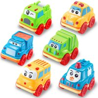 bagged mini truck - Cute Baby Kids Mini Pull Back Tractors Car Kids Party Bag Fillers Car Truck Loot Favour Toy
