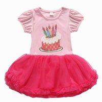 cake candle - 2015 Summer New Baby Girl Dress candle Cake Gauze TUTU Princess Dress M PL9704