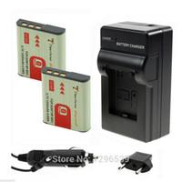 bateria types - 2x1400mAh li ion battery v Digital Batteries NP BG1 NP BG1 Bateria AC Charger Car Charger For Sony G type battery Camera