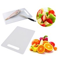 Wholesale Top Quality Best Promotion Plastic Large Premium Professional Quality Kitchen Chopping Cutting Board White order lt no track