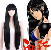Wholesale Gantz Reika Shimohira Black Long Straight Cosplay Hair Wig