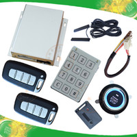 alarm sides - car safe guard system remote central lock passive keyless entry lock or unlock hopping code protection shock alarm and side door alarm