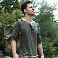 uv t-shirt - JOZSI Outdoor Hiking Camping Climbing T Shirt Leisure Sweatshirt Men Casual Shirts Anti uv Breathable O neck Long Sleeve Cotton T Shirt Male