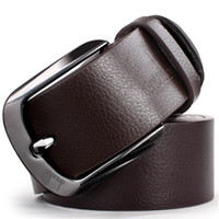 Wholesale Selling Retro Hot Sell Fashion Men Belts Low Price Cowskin Leather New Classic Design Casual Belt Strap Pin Buckle