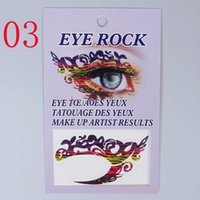best service crystals - NiceSeller best services Fashion New Sexy Women Eyes Rock Sticker Transfer Crystal Tattoos Makeup Beauty Hottest