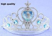 Wholesale Frozen crown hairbows tiaras crowns princess crown elsa crowns tiara girls party hair accessories hairband hair sticks hairbows