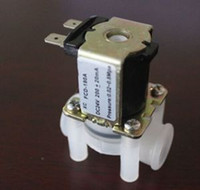 Wholesale Water Air Inlet Flow Switch N C quot DC V Electric Solenoid Valve Magnetic N C For Sale