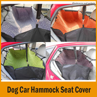 Wholesale Pet Dog Cat Car Waterproof Hammock Seat Cover Rear Back Seat Carrier Cover Pet Dog Mat Blanket Cover Mat Hammock Cushion Protector