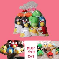 bird toys - pig bird plush toys birds pigs classic toys cloth cartoon bird toys for children dolls for decoration green pig baby toy