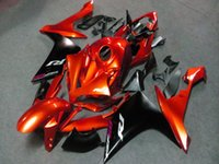 abs body kit - orange black Fairing For YAMAHA YZF R1 YZF1000 Body Kit tank cover On sale Fast delivery