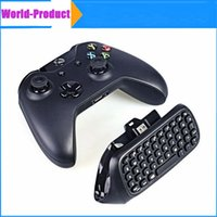 Cheap Mini Wireless Xbox One Chatpad Message Game Controller Keyboard for Xbox One Controller with 2.4G Receiver 010211