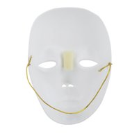 Wholesale Interesting Party Masks High Quality Face Mask for Halloween Masquerade Cosplay Carnival Costume Party White