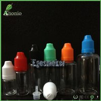 blinds - PET E Liquid Bottle With Childproof Cap And Long Thin Dropper Tip Plastic Dropper Bottles Eliquid Empty Bottle Braille Triangle Blind Mark