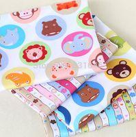animal quilting fabric - 4PCS cm Circle Small Animals Cotton Fabric Telas Quilting Tilda Patchwork Diy Baby Toy Tissu Sewing Bedding Textil Tecido