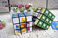Wholesale C1101 mental cube three order color cube adult children s intelligence toys cartoons intellectual development pattern of random deliver