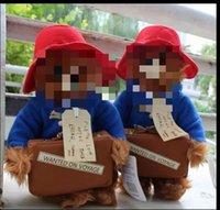 bear essentials - New Cm Red Hat Stuffed Bear Doll Cute Little Paddington Bear Plush Toy Children s Essential Gift