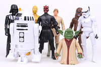 Wholesale New Star Wars figures toys star wars human cloning doll model toys Action Figures Toy CM Hot cartoon toys set