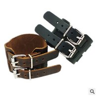 Wholesale whlosesale price genuine leather bracelets colors for man high quality
