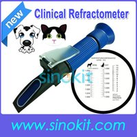 Wholesale Veterinary and Human Dog Cat Clinical Plastic Refractometer P RHC ATC Blue