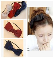 hair accessories for women - Lovely Women headbands Hair accessories Ribbon Bows Hairbands for Girls Colours headbands Women Hair Accessories Sale HA12