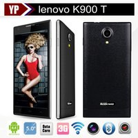 t-mobile cell phones - free shippin Lenovo K900 T Original Cell Phones MTK6592 Octa Core Smartphone Mobile Phone quot MP IPS Android GSM WCDMA G celular