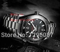 Wholesale New Skyfall James Bond Limited Edition Dive Mens Sports Watch Stainless steel Bracelet Black Men s Mechanical Watches