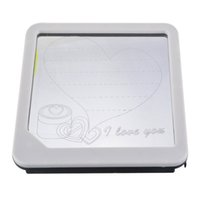 Wholesale LED Light Fluorescent Note Message Board Bar Kids Painting Writing Panel x3x22 cm PC