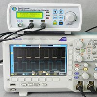 Wholesale 200MSa s MHz High Precision Digital DDS Dual channel Signal Source Generator Arbitrary Waveform Frequency Meter order lt no track