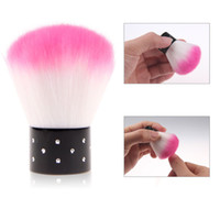 Wholesale New Professional Mini Powder Brush Dust Cleaner Cosmetic Cheek Make Up Tool For Acrylic amp UV Gel Nail Art