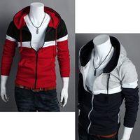 Wholesale New Fashion Men s Hoodies Stylish Designed Slim Fit Long Sleeve Coat Jacket Colors Sweatshirt