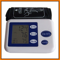 Wholesale health care Digital arm Blood Pressure and Pulse Monitor health monitor Sphygmomanometer Portable Blood Pressure Monitor TY920 oximetro de d