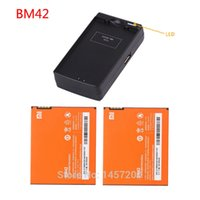 Wholesale 2pcs original Battery BM42 mAh pc wall charger for XIAOMI MIUI Redrice Redmi Redmi note s note g mobile phone