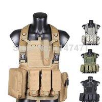 Wholesale New US RRV Have Duty Interceptor Tactical Vest Airsoft Tactical Molle Body Armor Combat Plates CS Vest Multicam Military Uniform