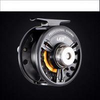 Wholesale FB75 metal Fly Reels Fly Reels Raft wheel Before vent power play round Fishing Tackle D2