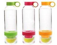 fruit box - Citrus Zinger Lemon Cup Fruit Infusion Water Bottles with Citrus Juicer with retail box