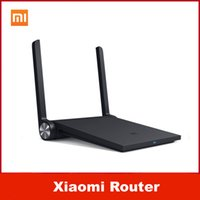 Wholesale Original brand mi Xiaomi router mini Black wifi router ac G G dual band ac antenna smart wireless MT7620A MB