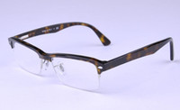 big eyeglasses - 7014 frame optical eyeglass Acetic acid material frame men and women glasses vintage big shortsightedness frame reading optional frame frees