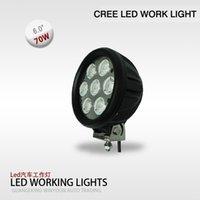 Wholesale 2PCS INCH W CREE LED WORK LIGHT W SPOT FOG LIGHT FOR x4 OFFROAD TRUCK ATV UTV LED DRIVING LIGHTS