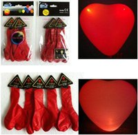 led balloons - 2015 Hot Sales LED light balloon flight luminous balloon light emitting balloon wedding party celebration bar performances