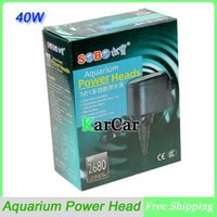 Wholesale SOBO W L H Aquarium Power Heads Multifunctional Submersible Pump Powerful Fish Tank Filter Water Pump V