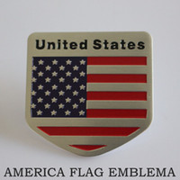 Door car badge - Car Decoration Sticker UNITED STATES Flag Emblema Drapeau Americain Side Badge America Bandeira Insignia USA Bandeira Adesivo