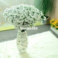 Wholesale New Arrival Fabric Gypsophila Baby Breath Artificial Silk Flowers For Decor Wedding Decoration