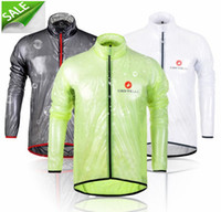 bicycling jackets - 2015 Pro team Cycling raincoat dust coat wind bike jacket jersey Bicycle raincoat windbreak Waterproof Windproof mtb cycling raincoat