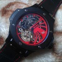 eta swiss movement - 2015Wholesale HBT Luxury fashion watch Top Quality Mens Watch Bang King Tourbillon Top Edition Swiss ETA Movement Automatic Men s Watches